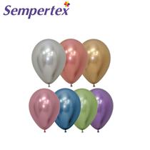 "Reflex Multi Assortment 5"" Latex Balloons 50pk"