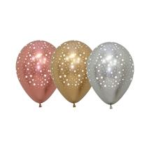 "Sempertex Reflex Stars 5"" Latex Balloons 50pk"