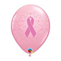 "Breast Cancer Awareness 11"" Latex Balloons 6pk"
