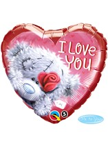 "Valentine's Day I Love You Tatty Teddy 18"" Foil Balloon"