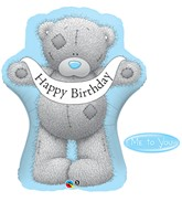 """Me To You Birthday 36"""" Supershape Foil Balloon"""