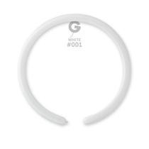 Gemar 160 White Latex Modelling Balloons 100pk