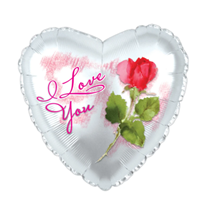 "I Love You Rose 17"" Foil Balloon"