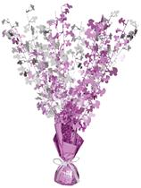 Baby Shower Pink Glitz Balloon Weight Centrepiece