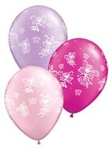 Fairies & Butterflies Pearl Latex Balloons 25pk