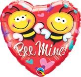 """Bee Mine! 18"""" Foil Balloon"""