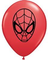 "5"" Spiderman Latex Balloons 100pk"