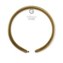 Gemar Shiny Gold 160 Modelling Balloons 50pk