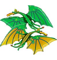 "Green Dragon 36"" Foil Balloon"