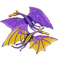 """Purple Dragon 36"""" Foil Balloon"""