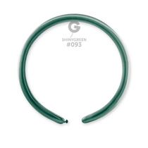 Gemar Shiny Green 160 Modelling Balloons 50pk