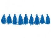 Blue Tassel Garland 3m