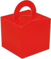 Balloon Weight/Gift Boxes Red - 10pk