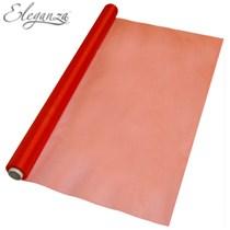 Red Organza Fabric Roll 70cm x 10M