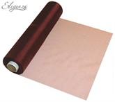 Burgundy Sheer Organza Roll - 29cm x 25m