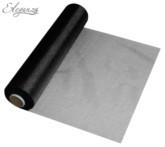 Black Organza Roll - 25M