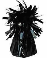 Black 6oz Foil Tassel Balloon Weight