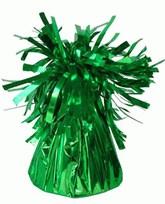 Green 6oz Foil Tassel Balloon Weight