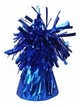 Royal Blue 6oz Foil Tassel Balloon Weight