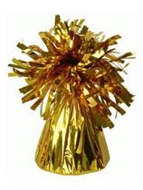 Gold 6oz Foil Tassel Balloon Weight