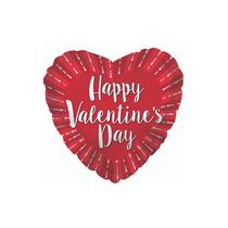 """Happy Valentine's Day 9"""" Red Mini Foil Balloon"""