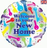 "New Home 18""  Foil Balloon"