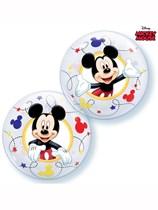 "Mickey Mouse 12"" Air Fill Bubble Balloons 10pk"