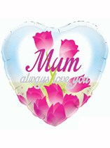 """18"""" Mother's Day Tulips Foil Balloon"""