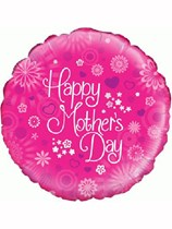 """Pink Mother's Day 18"""" Foil Balloon"""