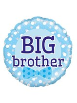 """Blue Big Brother 18"""" Foil Balloon"""