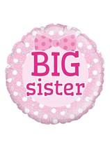 "Pink Big Sister 18"" Foil Balloon"