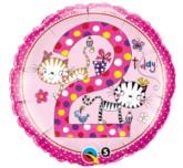 "18"" Rachel Ellen 2nd Birthday Foil Balloon"