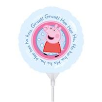Peppa Pig Mini Shape Foil Balloon (air fill)