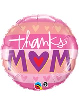 """Mother's Day Thanks Mum 18"""" Foil Balloon"""
