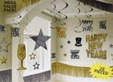 Mega Value New Year Party Decoration Kit 28pce