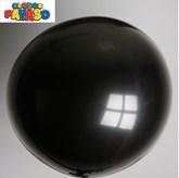 "Globos Black 2ft (24"") Latex Balloons 10pk"