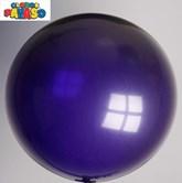 "Globos Purple 2ft (24"") Latex Balloons 10pk"