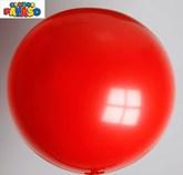"Globos Cherry Red 2ft (24"") Latex Balloons 10pk"