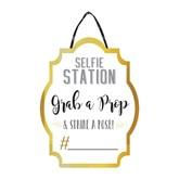 Selfie Station Sign