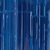 Bright Royal Blue Foil Door Curtain