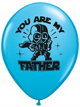 """Star Wars You are My Father 11"""" Latex Balloons 25pk"""
