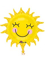 "Happy Sunshine 29"" Supershape Foil Balloon"