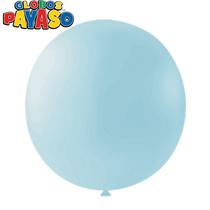 "Macaroon Blueberry 24"" Latex Balloons 10pk"