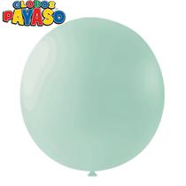 "Macaroon Mint 24"" Latex Balloons 10pk"