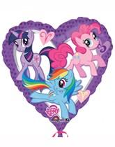 "My Little Pony 17"" Heart Foil Balloon"