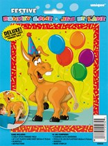 Deluxe Festive Pin The Tail On The Donkey Game