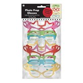 Photo Booth Prop Glasses 12pk