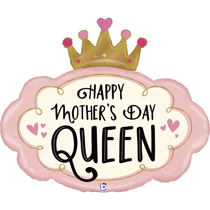 """Mother's Day Queen 37"""" Foil Balloon"""