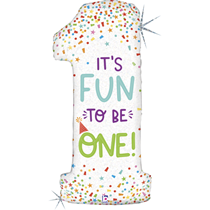 """It's Fun To Be One 46"""" Foil Balloon"""