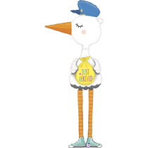 Special Delivery 6ft Stork Foil Balloon
